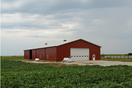 Agricultural Buildings and post frame structures.